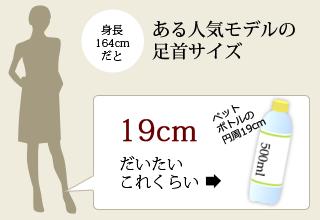 ある人気モデルの太ももサイズ